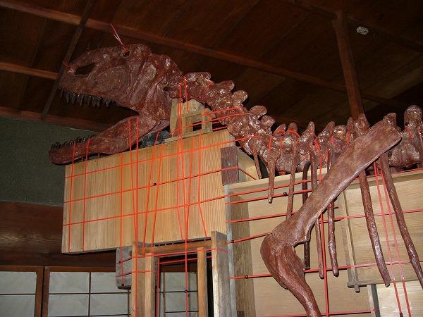 恐竜のいる家