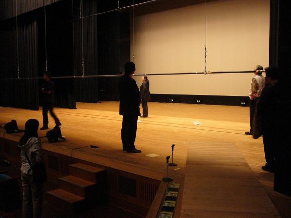 県民ホール舞台