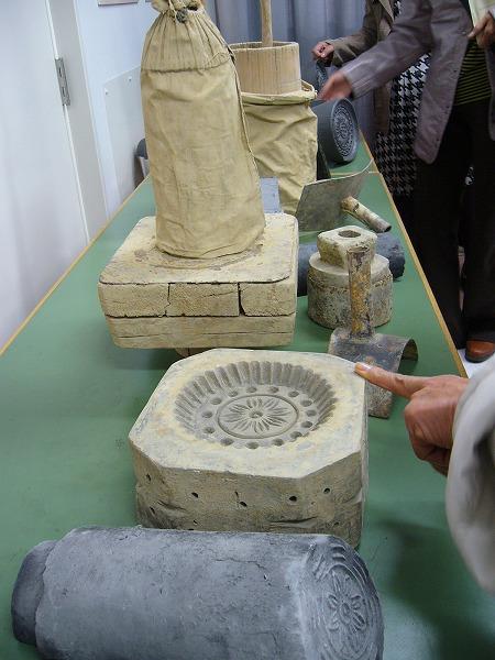 瓦作り用具中国