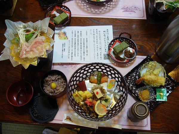 古都屋の昼食