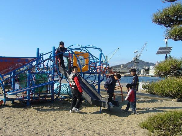 浦島太郎さんの公園