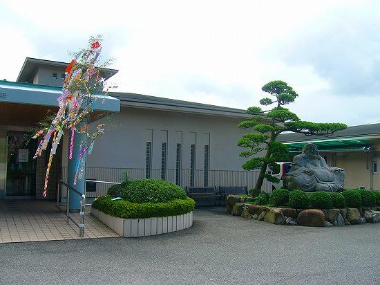 みの荘笹飾り