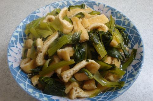 100117-030小松菜と油揚げの煮びたし(縮小)