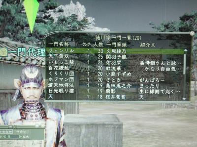 徳川の一門!