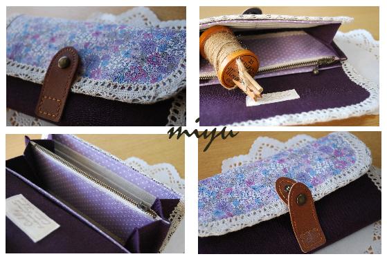 長財布(ペブル紫)3