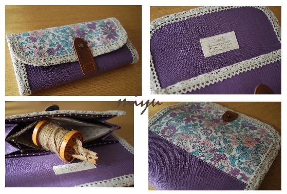 長財布(エミリー紫×紫)3