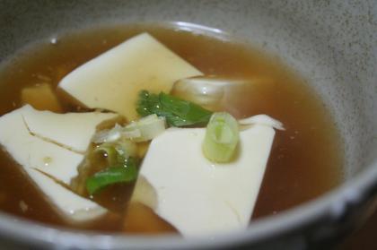 春豆腐汁1