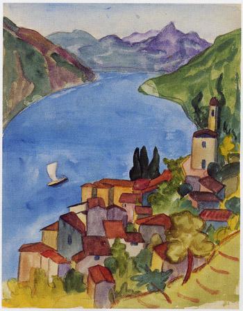 ヘルマン・ヘッセの水彩画