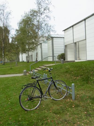 20101007自転車とバウスベア