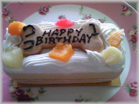 ココ1歳ケーキ