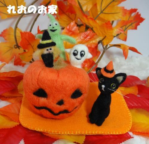 黒猫ハロウィン1
