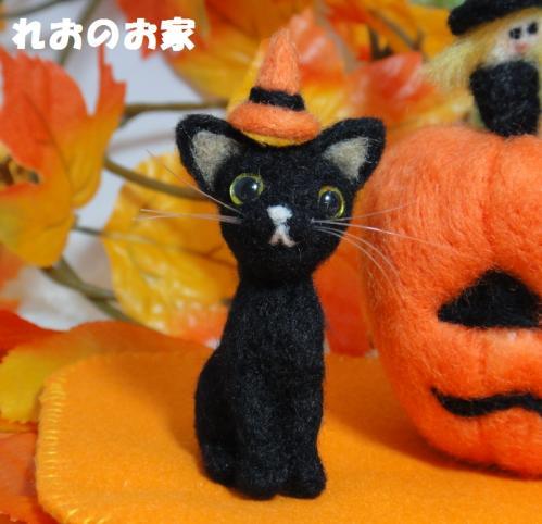 黒猫ハロウィン3