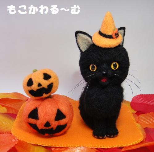 ハロウィン黒猫1