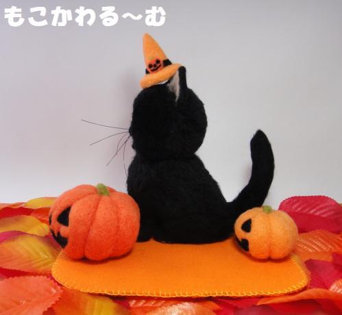ハロウィン黒猫2