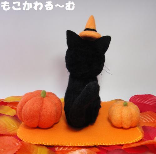 ハロウィン黒猫3