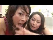 W熟痴女 手コキ・フェラ・パイズリ!!