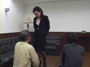 M男動画 ビンタ炸裂!オンナの下で働きたい!
