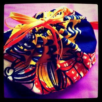 African braid pouch1