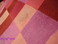 シルクの端切れ ピンクシリーズ