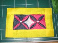 ヨイチュボ(小)はセッタムサムチル(3つの飾りの返し縫い)まで完了