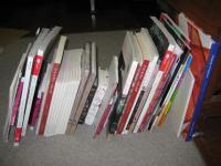 買って帰った本たち・・重いはずだよ