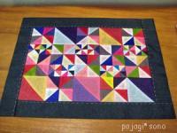 サソンタンポ 色々サイズの三角繋がり