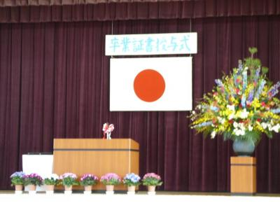 ぽっちゃりんの卒業式