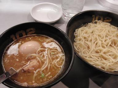102のつけ麺!