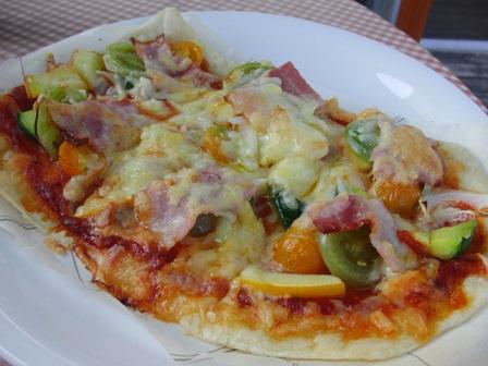 自家製お野菜のピザ