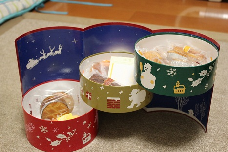 お菓子の箱♪