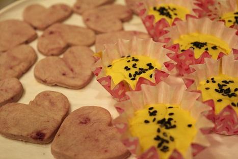 かぼちゃケーキ&紫イモクッキー