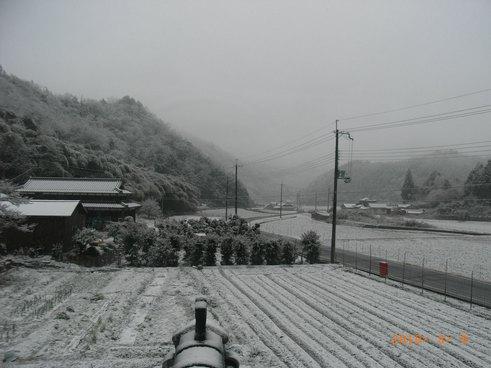 10年雪景色