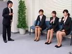 【エロ動画】就職面接中に時間を止めて、初々しいリクルートスーツの就活生を犯す!