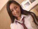 無修正:長谷川潤みたいな綺麗な女子学生とハメ撮り