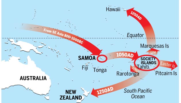 PACIFIC MIGRATION New findings about migration through the Pacific Islands, which place earlier estimates out by up to 400 years, could force a rewrite of history.