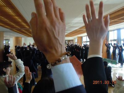 平成22年 3月 10日  八中卒業式 051
