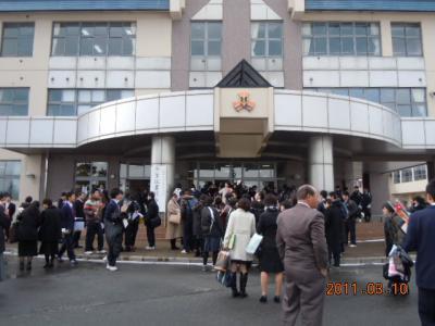 平成22年 3月 10日  八中卒業式 058