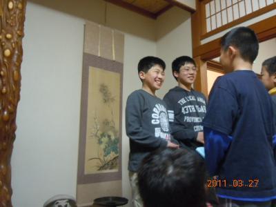 平成22年 3月 27日  レスリング6年生を送る会 009