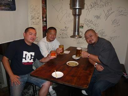 9月21日横浜3人食事