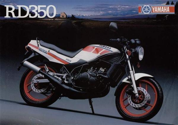 Yamaha RD 350N_