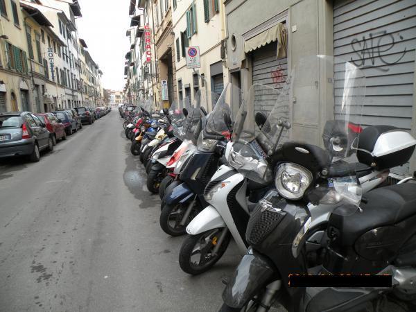 イタリア式駐輪2