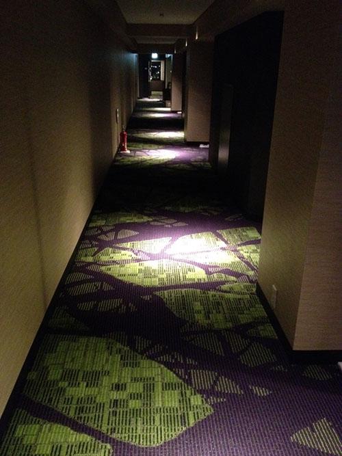センチュリーホテル通路
