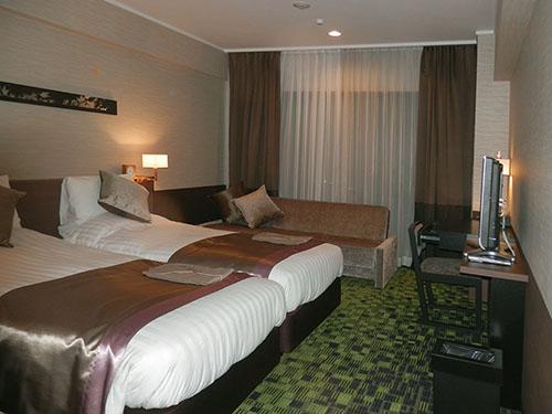 センチュリーホテル客室