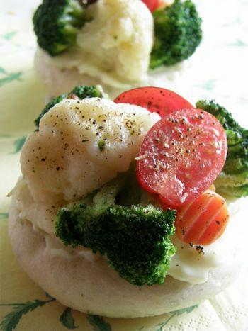 Jun-01-2011 野菜フォカッチャ