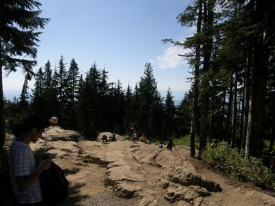 Grouse Grind  Finish!