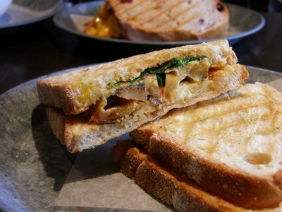 Potato Omelet Sandwich