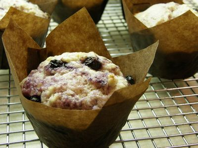 Buttermilk & Buleberry Muffins