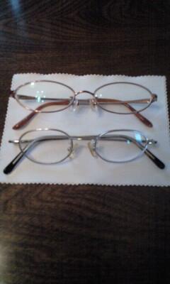 091107新・旧眼鏡
