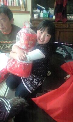 091220クリスマス長靴実織