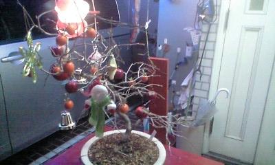 091220植木飾り